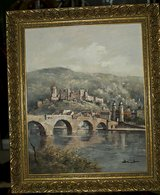 Heidelberg oil painting in Ramstein, Germany