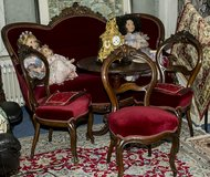 ANTIQUE  LOUIS PHILIPPE SOFA | at 1860 and 3 chairs in Ramstein, Germany