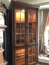 Beautiful Large Wood Display Cabinet in Plainfield, Illinois