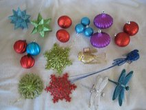 Christmas ornaments in Westmont, Illinois