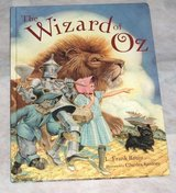 The Wizard of Oz Hard Cover Childrens Book Classic Fairytale L Frank Baum in Chicago, Illinois