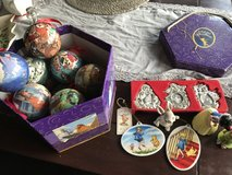 Disney Ornaments and Snow White salt and pepper in Stuttgart, GE