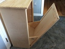 Wood tip-out trash bin - NEW in Fairfax, Virginia
