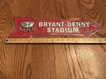 BAMA Bryant-Denny Stadium sign in Fort Rucker, Alabama