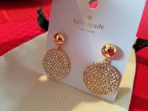Beautiful NEW Kate Spade earrings in Naperville, Illinois