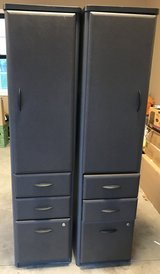 2- Bush Series A Vertical Locker Bookcase - Slate in Clarksville, Tennessee