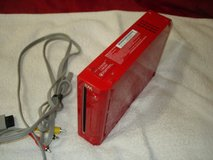 nitendo wii console red only in Fairfield, California