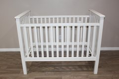 NEW Pottery Barn White Baby Crib- Mattress Included in Houston, Texas