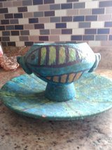 Pottery dish and plate in Alamogordo, New Mexico