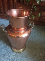 "Copper ""vase"", tall in Fairfield, California"