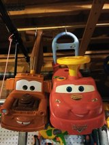 Mater and Lightning McQueen in bookoo, US