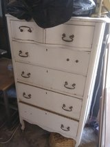 old dresser in Yucca Valley, California
