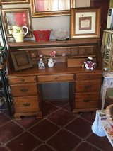 Very nice desk in great condition20 inches deep 54 inches wide 30 inches call seven drawers in The Woodlands, Texas