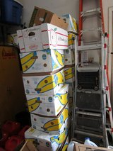 MOVING boxes, BANANA BOXES W/LIDS in Bolingbrook, Illinois