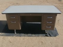 large 1950's desk in Yucca Valley, California