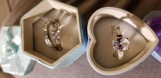 2 Different Rings in Sterling Silver in Clarksville, Tennessee