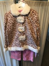 ***BRAND NEW ***Toddler Girl Kitty Cat Outfit SZ 4T in Houston, Texas