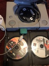 Original PlayStation 1 ..with control, 3 games and memory card! Kept in great condition in Fort Campbell, Kentucky
