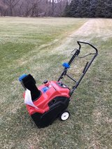 TORO POWER CLEAR 221QE Electric or pull start 1 owner with manual ready to work very good condit... in Yorkville, Illinois
