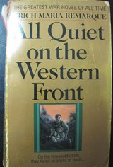 All Quiet on the Western Front by Erich Maria Remarque, Paperback in Kingwood, Texas