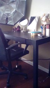 Desk and computer chair in Leesville, Louisiana