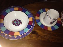 Set of dishes for 8 in Fort Drum, New York