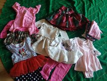 Beautiful Babygirl  0 to 3 and 6months Holiday Colors clothing . in Beaufort, South Carolina