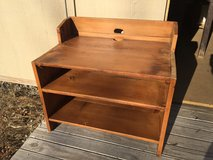 Barnwood TV stand in Naperville, Illinois