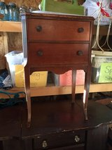 Vintage sewing cabinet w/swinging thread door in Bartlett, Illinois