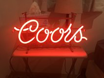 COORS Vintage 70's Neon Light in Okinawa, Japan