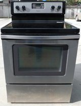 STOVE- WHIRLPOOL GLASS TOP- BLACK/STAINLESS in Camp Pendleton, California