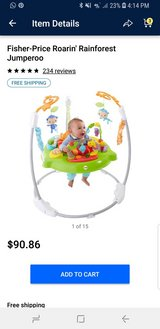 Fisher price jumperoo in Fort Drum, New York