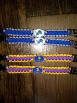 NFL Paracord BRACELETS!! in Clarksville, Tennessee