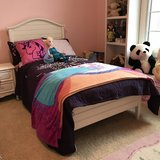 Crate and Barrel Twin Bed + Memory Mattress in Naperville, Illinois