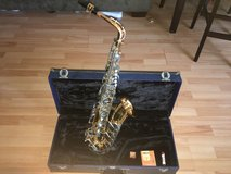 Alto saxophone in Leesville, Louisiana