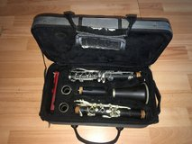 B flat clarinet in Leesville, Louisiana