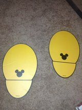 Disney Mickey Footprints in Lockport, Illinois
