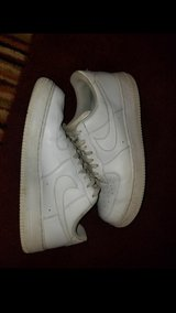 All white Air Force Ones ...Size 11 in Fort Campbell, Kentucky