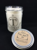 Ms. T's Candle, Hot Apple Pie, Handmade, Hand Poured, Scented Candle in Ramstein, Germany