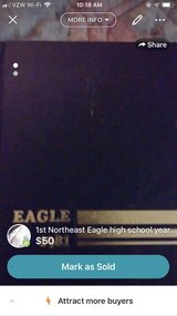 1st Northeast Eagle high school yearbook in Fort Campbell, Kentucky