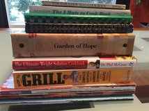 Various Cookbooks in Lockport, Illinois