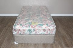 Twin size mattress and boxspring included in Kingwood, Texas