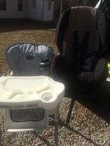 Car Seat And High Chair in Fort Knox, Kentucky