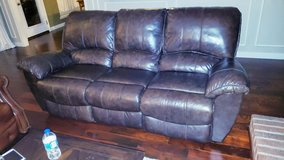 Leather Sofa - Reclines in Houston, Texas
