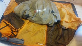 New Camping tent for 2 people with tent poles, hooks and storage bag in Stuttgart, GE