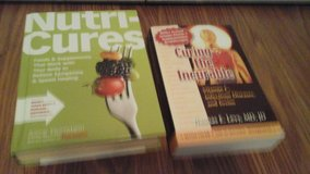 2 Book Set  Nutri Cures and Curing the Incurable in Sandwich, Illinois