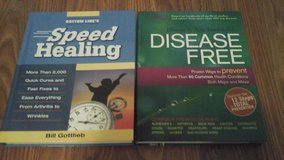 Health Related Hard Covered Books Speed Healing & Disease-free in Aurora, Illinois