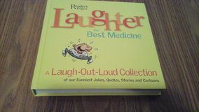 Hard Covered Book Readers Digest Laughter The Best Medicine  Joke Book in Glendale Heights, Illinois