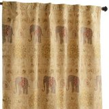 Gold Elephant Curtains in 29 Palms, California