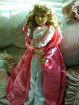 """30"""" Porcelain Victorian Doll in Yucca Valley, California"""